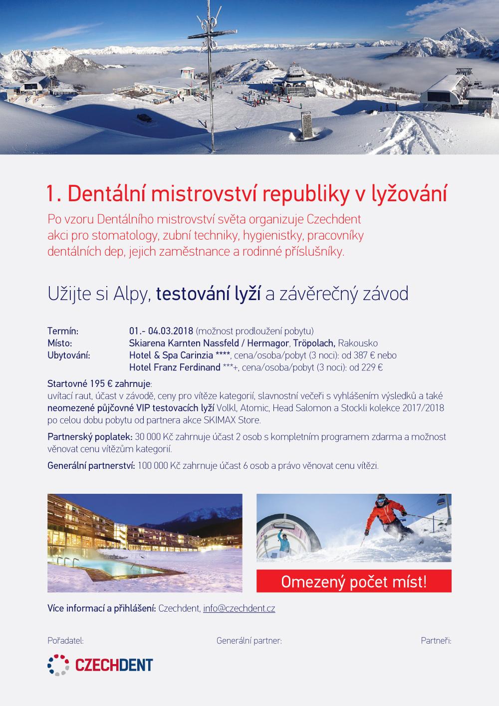 Dentální mistrovství republiky v lyžování